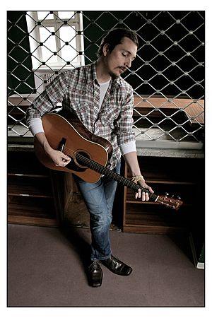 Shane Alexander (musician) - Image: SA Barfence