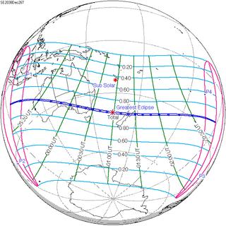 Solar eclipse of December 26, 2038