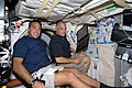 STS-127 Christopher Cassidy and David Wolf.jpg