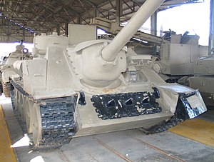 SU-100 - Captured SU-100, Batey Ha-Osef Museum, Israel.