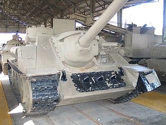 SU-100 - Captured SU-100, Batey Ha-Osef Museum, Israel.
