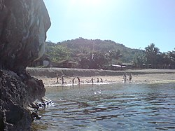 A beach in Ambucao
