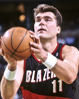 Euroscar - Lithuanian center Arvydas Sabonis won six Euroscar Awards between 1984 and 1999.