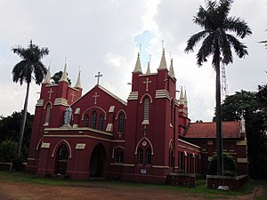 Paschim Bardhaman district - Image: Sacred Heart Church, Asansol 01