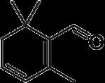 Strukturformel von Safranal
