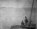 Sailing Canoe and Crew, Jaliut Lagoon, Marshall Islands (1899-1900).jpg