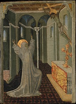 Saint Catherine of Siena Receiving the Stigmata MET DP366040.jpg