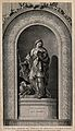 Saint Genevieve. Etching by S. Fessard, 1757, after C.J. Nat Wellcome V0033461.jpg