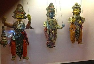 Puppetry - Sakhi Kandhei (String puppets of Odisha)