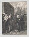 Salanio, Salerio and Shylock (Shakespeare, Merchant of Venice, Act 3, Scene 1) MET DP870100.jpg