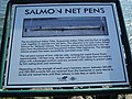 Salmon net pens Elliott Bay Seattle Washington.JPG