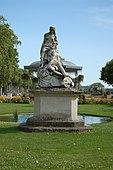 Estatua de Sansón y Dalila en Agen