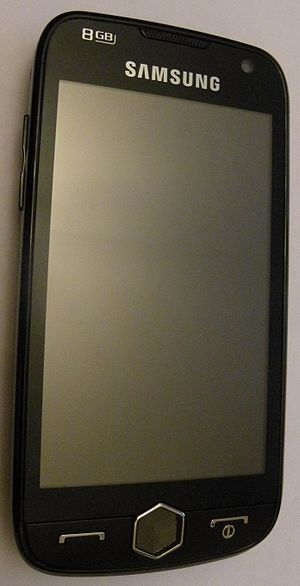 Samsung i8000 - Image: Samsung GT i 8000 8GB 2