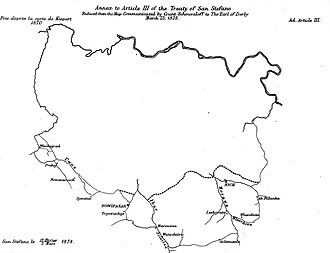 Treaty of San Stefano - Image: San Stefano 2