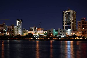 San Juan, Puerto Rico - San Juan at night