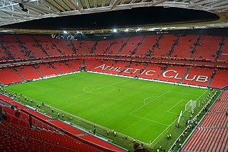 San Mamés Stadium (2013) - Image: San Mames, Bilbao, Euskal Herria Basque Country
