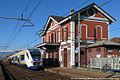 San Maurizio - stazione ferroviaria - elettrotreno TTR.jpg