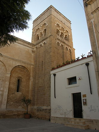 Brindisi - Bell tower of the church of San Benedetto.
