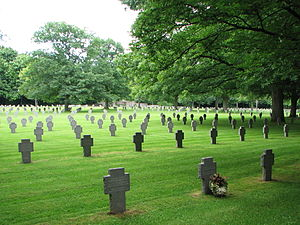 Deadliest single days of World War I - Sandweiler German war cemetery in Luxembourg