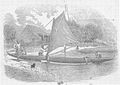 Sandwich Islanders' Canoes, wood engraving from a daguerreotype by B. Jay Antrim.jpg