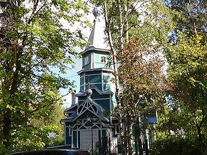 Lisy Nos - A wooden church in Lysy Nos