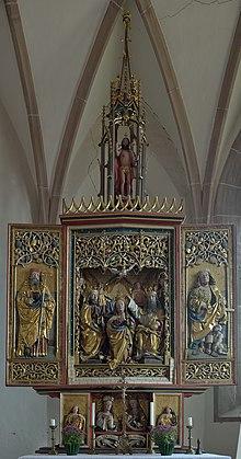 Sankt Magdalena Kirche in Dreikirchen Altar.jpg