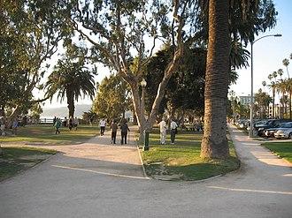 Palisades Park (Santa Monica) - Palisades Park in Santa Monica