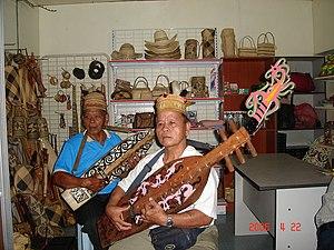 Sapeh - Two men playing electric Sapes.