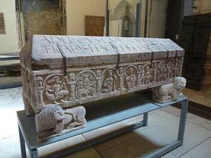 Adelochus - Image: Sarcophage d'Adeloch
