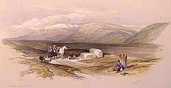 Sarepta April 27th 1839 - David Roberts, R.A. LCCN2002717517 (cropped).jpg