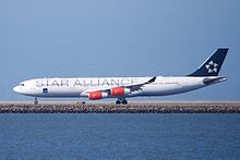 "Scandinavian Air Service SAS Airbus A340-300 ""Star Alliance"" markings (26380190514).jpg"