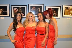 Scarlet Fever (band) - Image: Scarlet Feverin Red