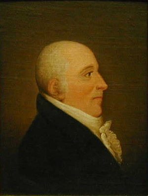 Joseph Quesnel - A painting of Joseph Quesnel, ca 1808 – 1809, by Gerritt Schipper. Collection du Musée régional de Vaudreuil-Soulanges