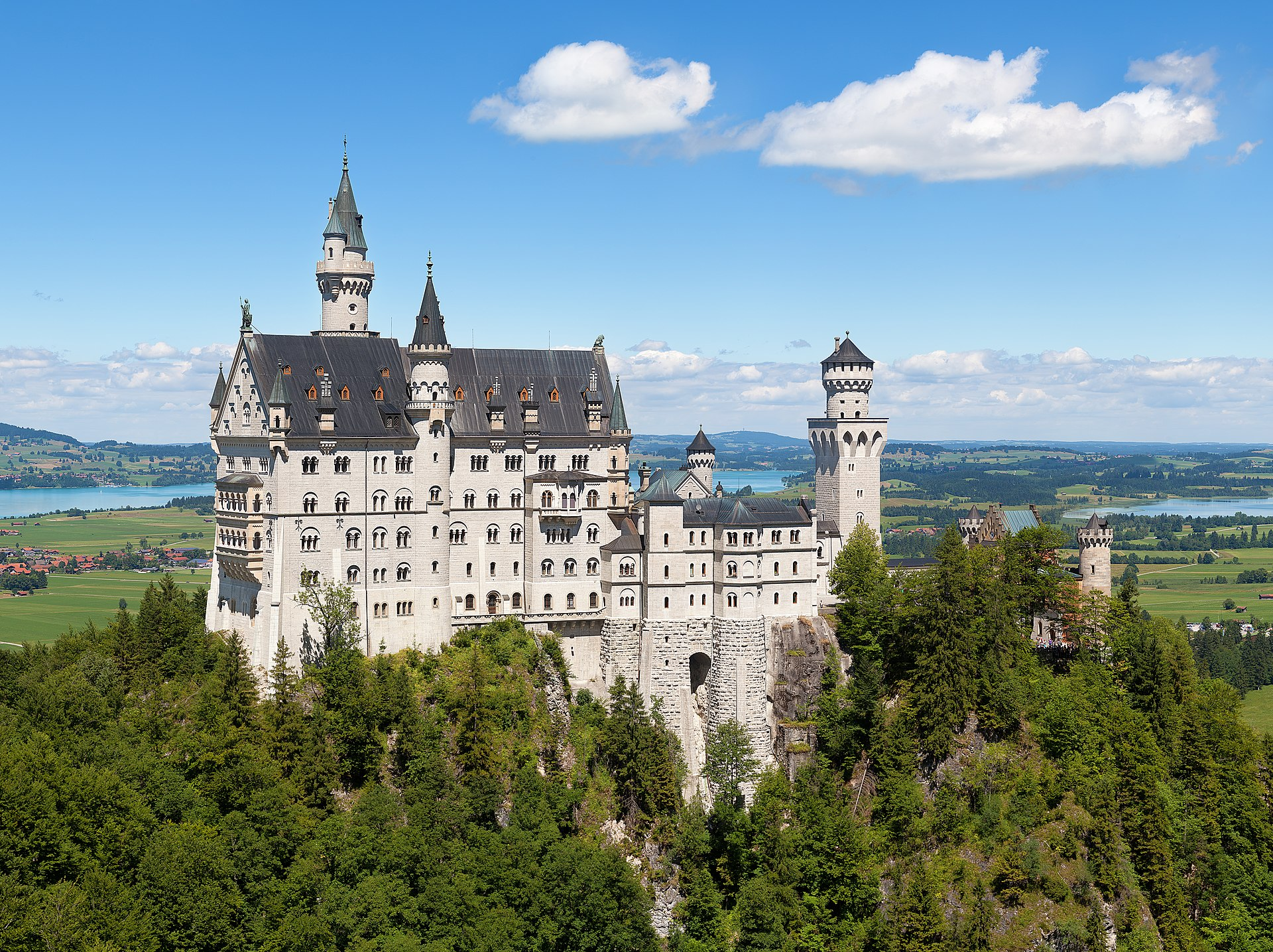must-see plaatsen in Duitsland - Neuschwanstein