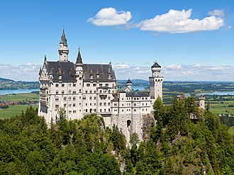 Allgäu - Image: Schloss Neuschwanstein 2013