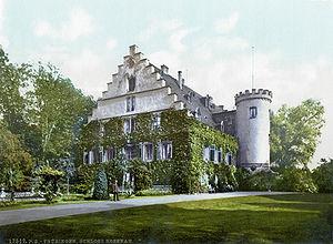 Schloss Rosenau, Coburg - The Rosenau, c. 1900