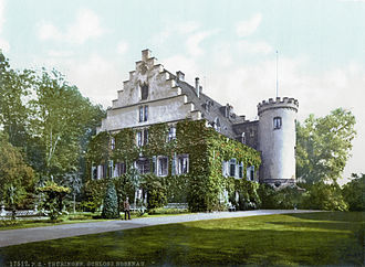 Schloss Rosenau, Coburg - The Rosenau, c. 1900