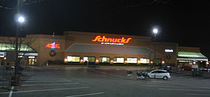 What are some departments at Schnucks?