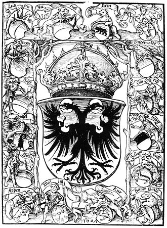 Coat of arms of Switzerland - Image: Schweizer Chronik Etterlin