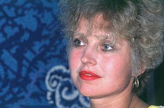 Hanna Schygulla German actress and chanson singer