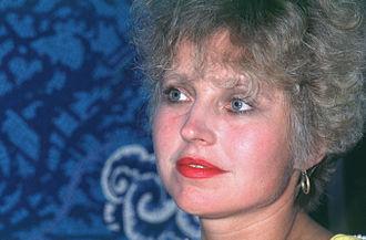 Hanna Schygulla - Hanna Schygulla in 1982
