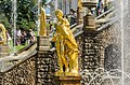 Sculptures on the Grand Cascade of Peterhof 02.jpg