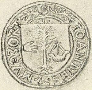 Birlinn - The seal of John Moidartach (from 1572).