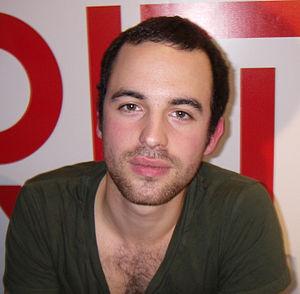 Sebastian Karlsson (singer) - Sebastian at a record signing in Norrköping, Sweden 2007.