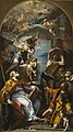 Sebastiano Ricci - A Glory of the Virgin with the Archangel Gabriel and Saints Eusebius, Roch, and Sebastian.jpg