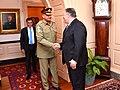 Secretary Pompeo Meets With Pakistani Chief of Army Staff General Qamar Javed Bajwa Nishan-i-Imtiaz (48357443357).jpg