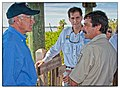 Secretary Salazar, Director Dan Ashe, and Charlie Pelizza (6279678463).jpg