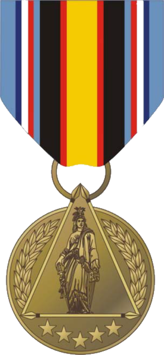 Secretary of Defense Medal for the Global War on Terrorism - Obverse of the medal