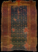 Seljuq carpet, 320 by 240 centimetres (126 by 94 inches), from Alâeddin Mosque, Konya, 13th century