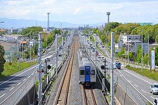 Semboku Rapid Railway Railway line in Osaka Prefecture, Japan